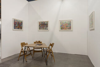 Team Gallery at Art Brussels 2013, installation view