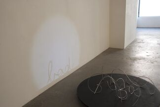 Fred Eerdekens: One Looking At It, One Looking Through, installation view