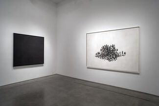 "Robert Longo, ""Gang of Cosmos"", installation view"