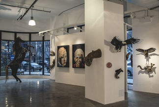 AG Pop: Federico Uribe Pop-Up Exhibit in SoHo, installation view