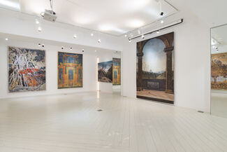 Tapestry Art Curated by Kathleen Goncharov, installation view