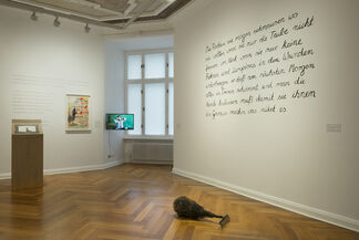 The Red Gaze, installation view