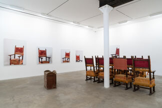 """""""Pray for Me""""—Pope Francis I, installation view"""