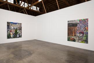 Marius Bercea: (On) Relatively Calm Disputes, installation view