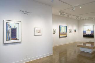 Wayne Thiebaud:  Paintings, installation view