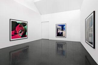 Roland Fischer   new architectures, installation view