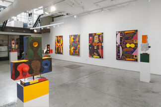 """Austin Eddy """"Follow The Crooked Path (Though It Be Longer), installation view"""