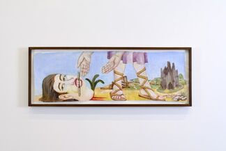 """Charles Garabedian, """"Mythical Realities"""", installation view"""