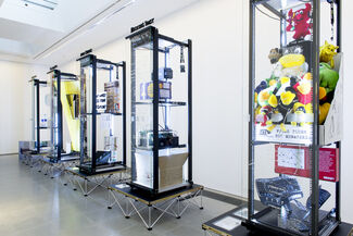 Simon Denny: Products for Organising, installation view