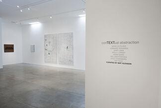 ConTEXTual Abstraction, installation view