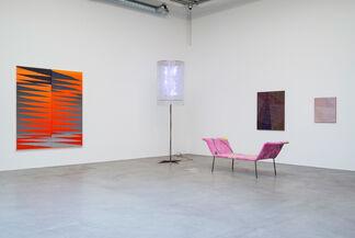Dans un intérieur, installation view