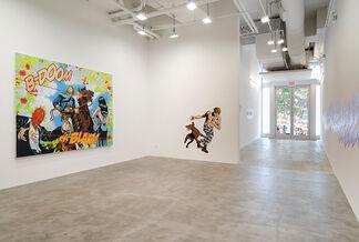 Jerry Kearns: RRRGGHH!!!, installation view