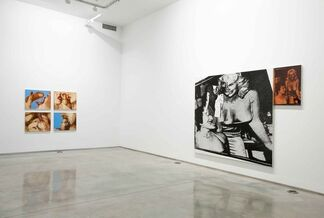 """Marilyn Minter - """"Paintings from the 80s"""", installation view"""
