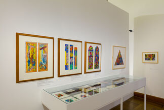 Alfred Wickenburg - Visions in Colour and Form, installation view