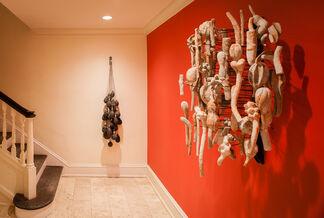 "David Hicks - ""Nucleus"", installation view"
