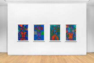 Keltie Ferris: M\A\R\C\H, installation view