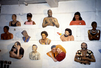John Ahearn and Rigoberto Torres: Works from the 42nd Street Project, 1993, installation view