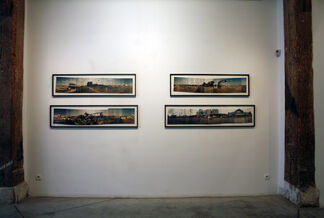 albert moser : life as a panoramic, installation view