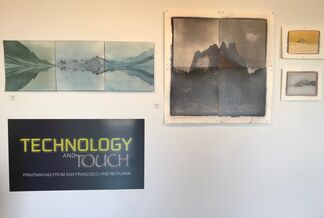 Technology and Touch: Printmaking from San Francisco, California and Reykjavik, Iceland, installation view