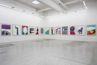 David Shrigley | COLOURED WORKS ON PAPER, installation view