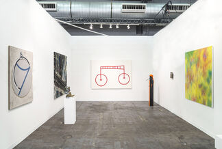 Galerie Valentin at The Armory Show 2015, installation view