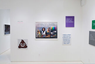 It's Not You, installation view
