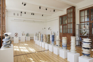 I Hardly Ever Thought of Flowers, installation view