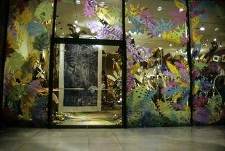 Provi's Garden (a cardboard fantasy), installation view