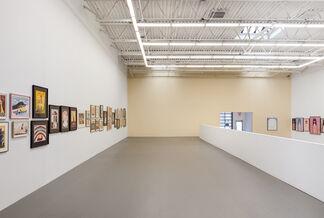 Hans Schärer: Madonnas and Erotic Watercolors, installation view