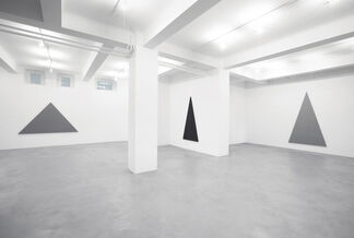 ALAN CHARLTON. TRIANGLE PAINTINGS, installation view