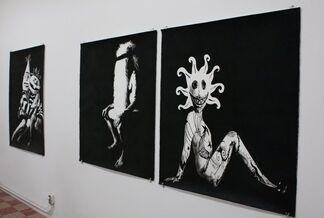 "LESLIE LANXINGER - ""White Whale"", installation view"