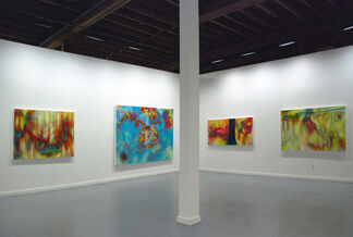 Chris Kahler: Recent Paintings, installation view