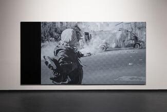 Marco Fusinato: Lower Power, installation view