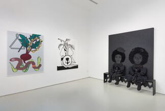 Dragging the Sky to Shore, installation view