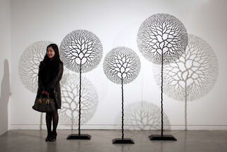 """Lee Jae Hyo's Creations"""" between sculptural Art and Design"""", installation view"""