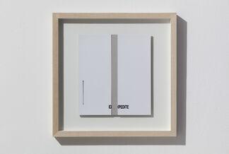 Peter Downsbrough   Films 2003 - 2012, installation view
