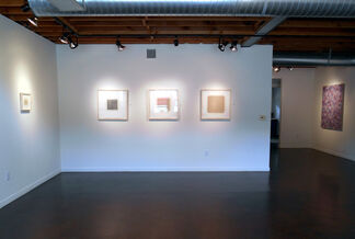 """""""Spray Weaver"""" by Stephen Giannetti and """"Profound Subtlety"""" by Eleanor Wood, installation view"""