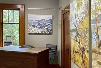 Island Time Summer 2020 with Contemporary Canadian Landscape Painter Terrill Welch, installation view