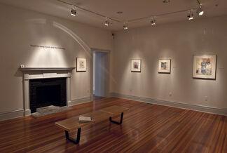 Robert Rauschenberg: Kyoto, Sri Lanka, and Thai Drawings, installation view