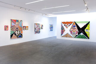 Brian Porray:  |*/N0_N3W_M00N\*| : New Paintings and Works on Paper, installation view