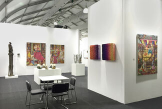 Redsea Gallery at Art Central 2016, installation view