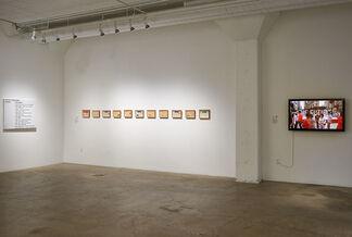 Garble, installation view