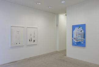 Jonas Wood, installation view