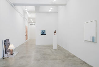 Never Look Back When Leaving, installation view