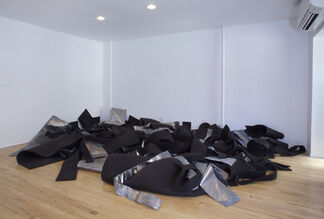 Robert Morris. Untitled (Lead and Felt), 1969, installation view