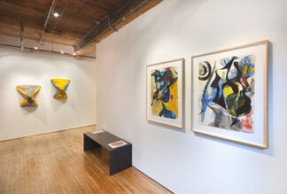 Lynda Benglis: Prints & Cast Paper from the 1970's - 2000's, installation view