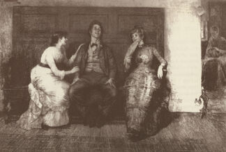Late 19th Century American Etchings, installation view