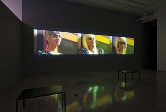 "Brice Dellsperger - ""Refreshing Fassbinder...and others"", installation view"