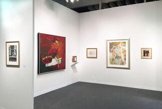 Allan Stone Projects at The Armory Show 2016, installation view