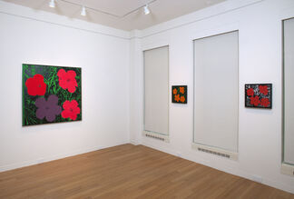 Andy Warhol Flowers, installation view